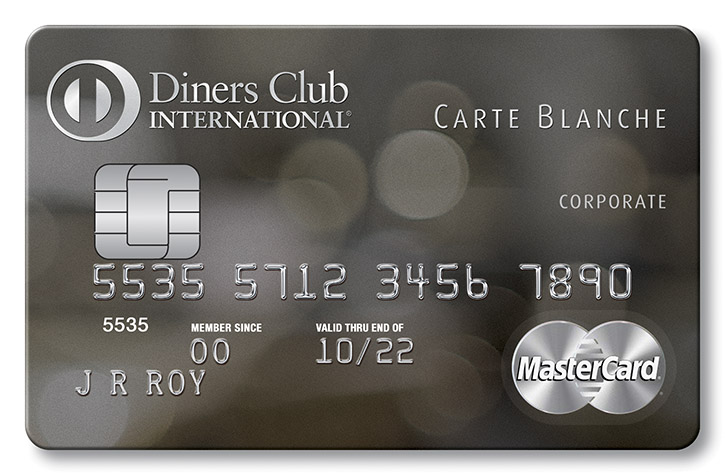 Carte blanche diners club international card image reheart Choice Image